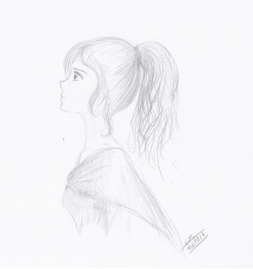 Autoportrait ? by Liliandril