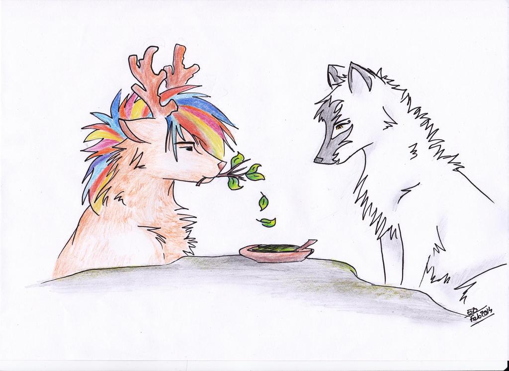Kelpie And Ikite ~ Cadeau by Liliandril