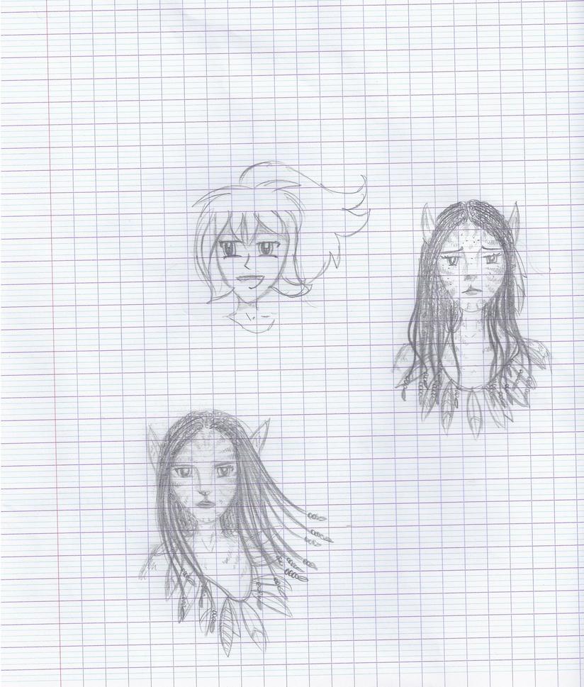 En cours de Physique Chimie ? Neytiri ! by Liliandril