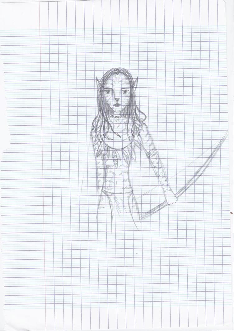 Neytiri, French Class by Liliandril