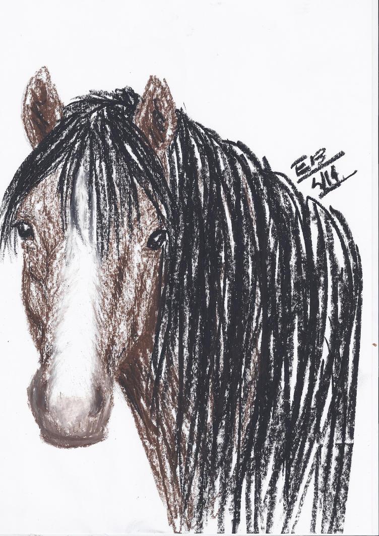 Bai Horse by Liliandril