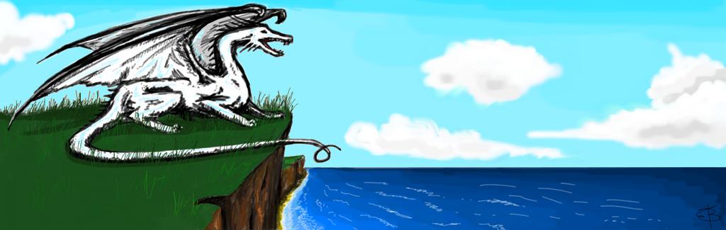 Dragon en cadeau by Liliandril