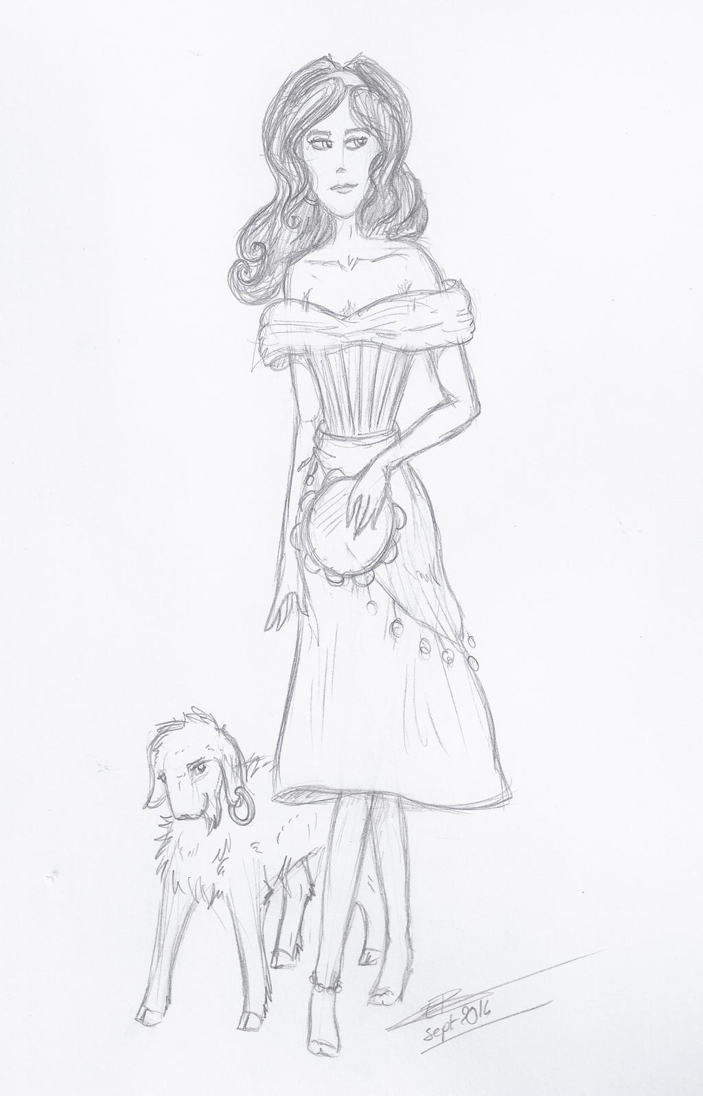 Esmeralda Et Jolly by Liliandril