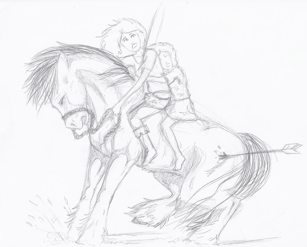An Arrow ! by Liliandril