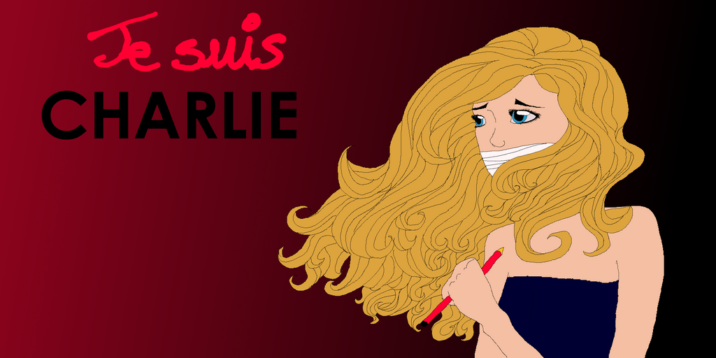 Je suis Charlie by Liliandril