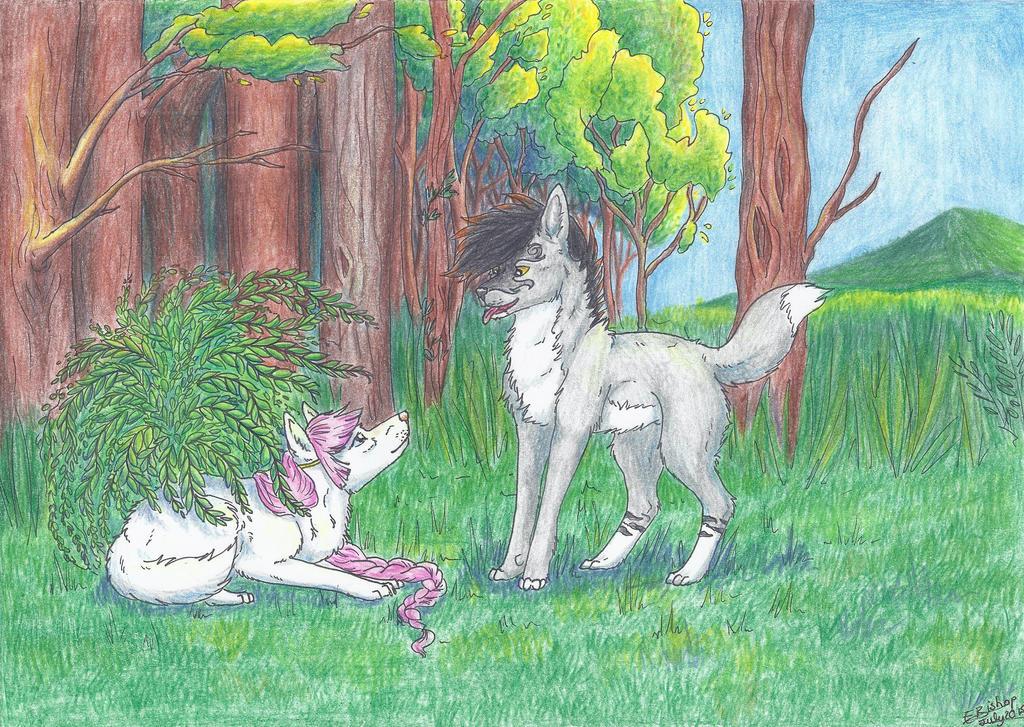 Nephi finds Haku -Present by Liliandril