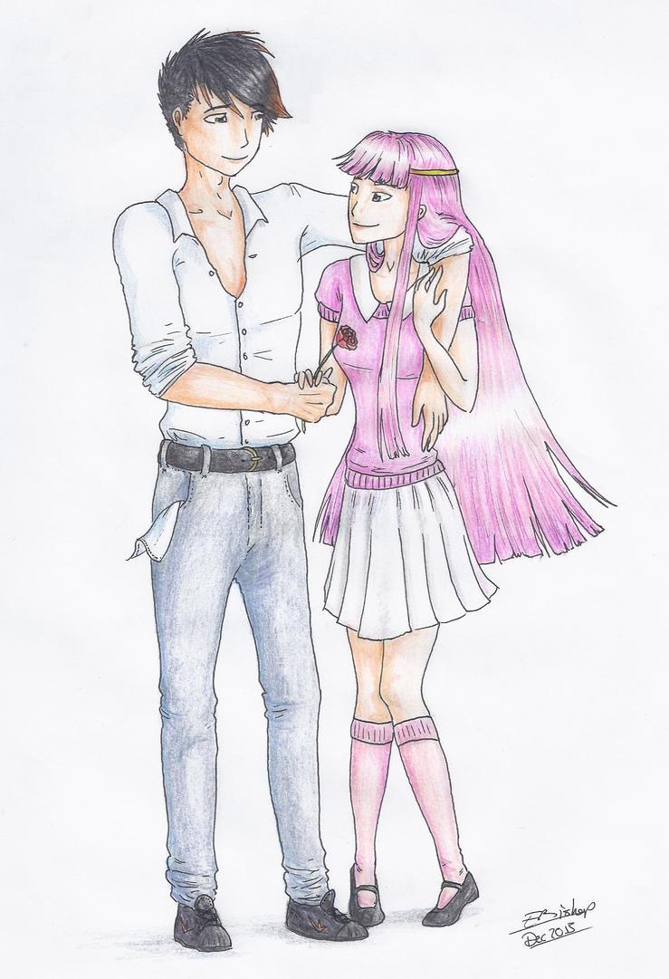 Nephilim and Hakudoshi by Liliandril