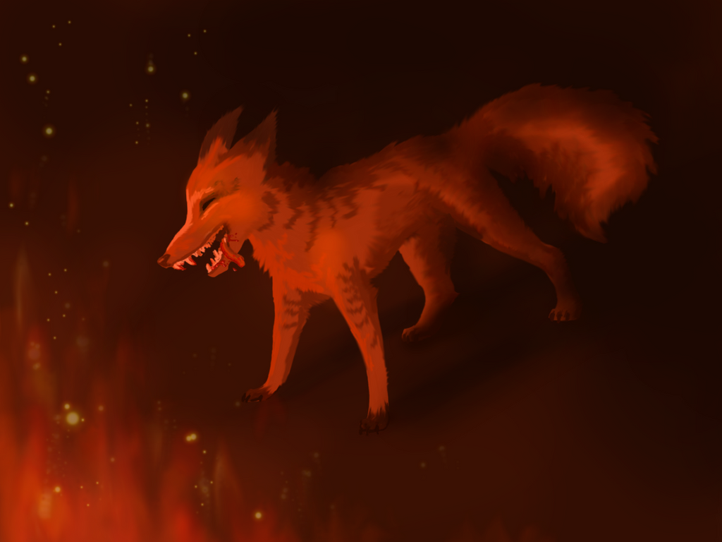 The fox who loved fire by Liliandril