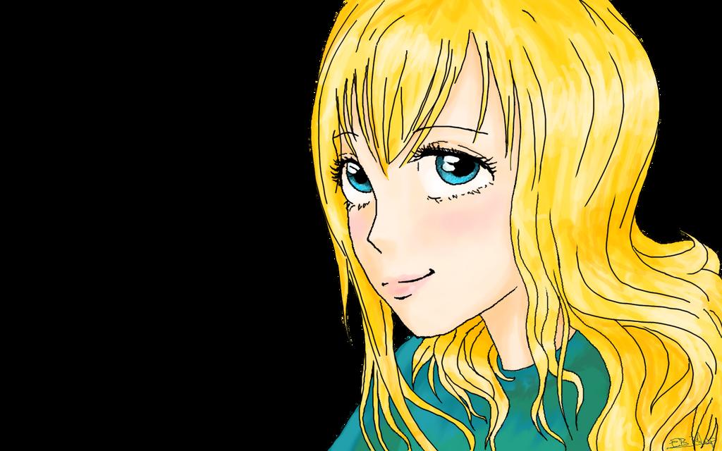 Autoportrait manga by Liliandril