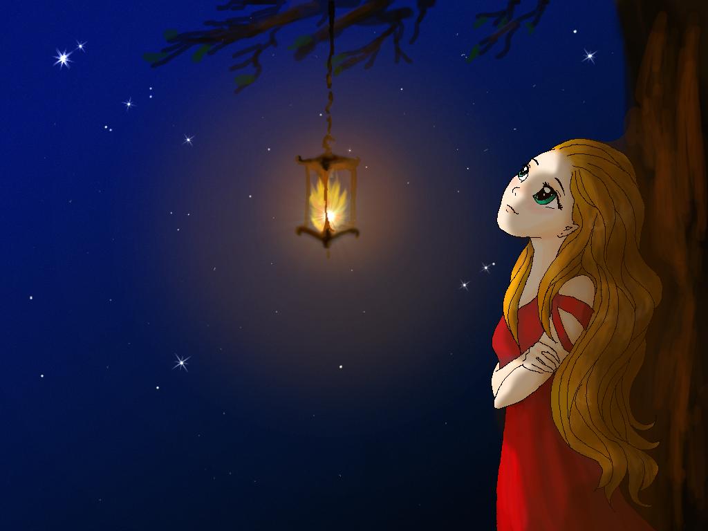 Far away light by Liliandril