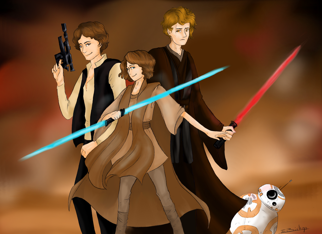 Gift- The new Jedi by Liliandril