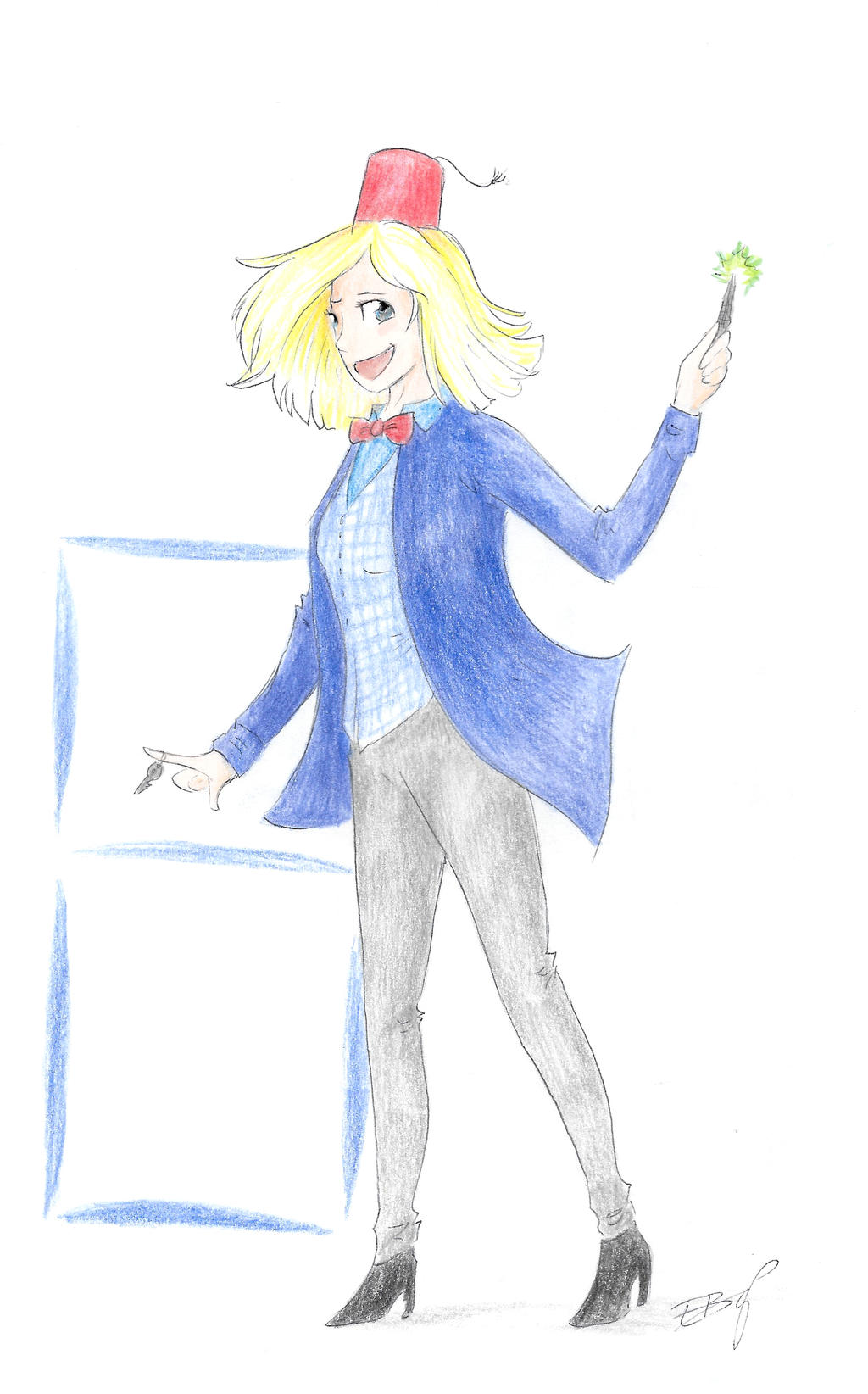 8th- The new Doctor by Liliandril