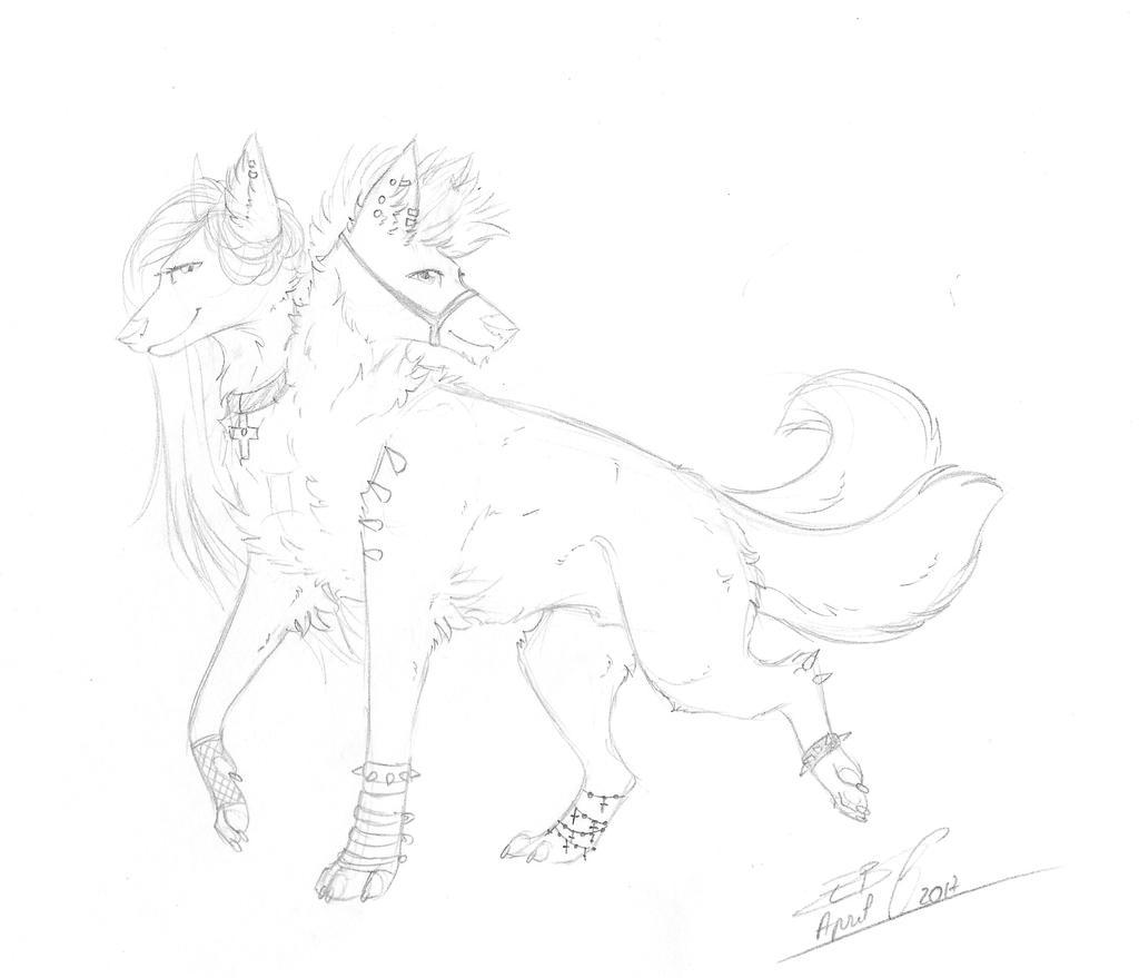 Rhesus - Gift by Liliandril