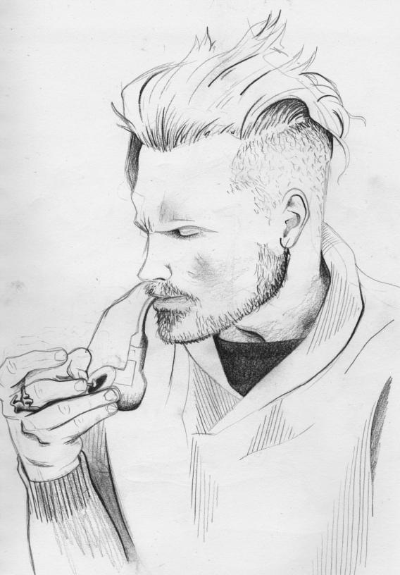 Wade Holter by Mangaeyes