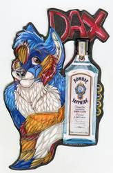 Dax Drink badge Comm by ZinStone