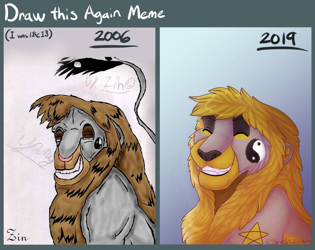 Draw this again 2006-2019 by ZinStone