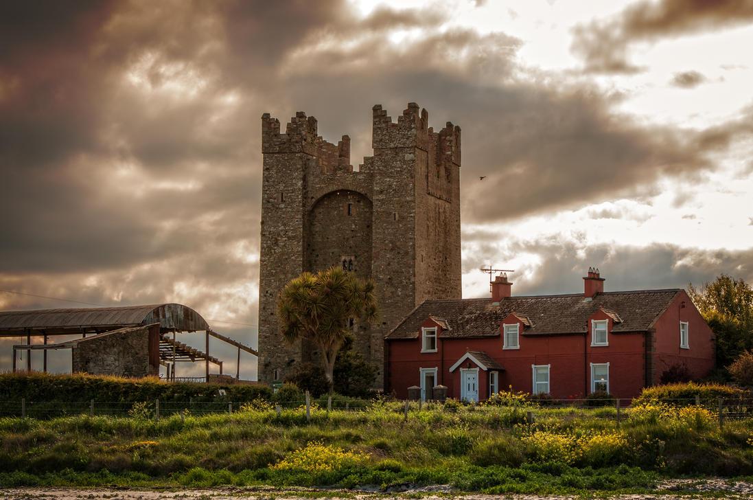 Castle near the Beach by Vargson