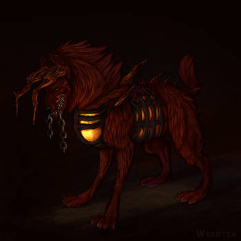 Hellhound by Weedtea
