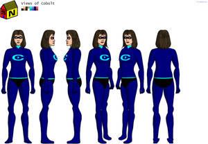 Super-Neighbors Character Sheet: Cobolt