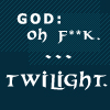 God and Twilight Icon by OneWingedMuse
