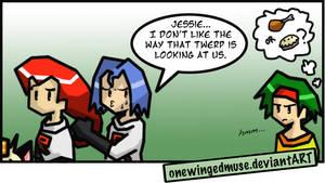 PKMN: Staring Comic