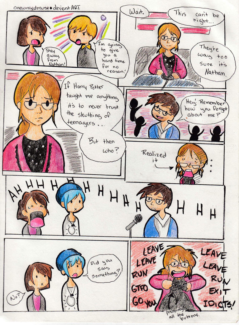 LiS: My Let's Play Comic Ep4 Spoilers by OneWingedMuse