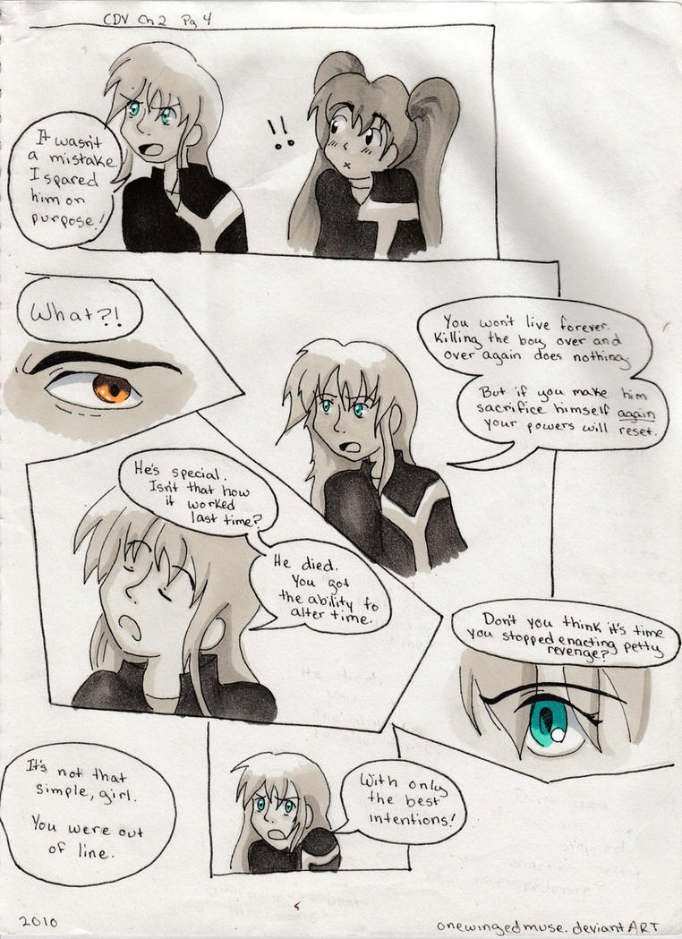 CDV: Chapter 2 Page 4 by OneWingedMuse