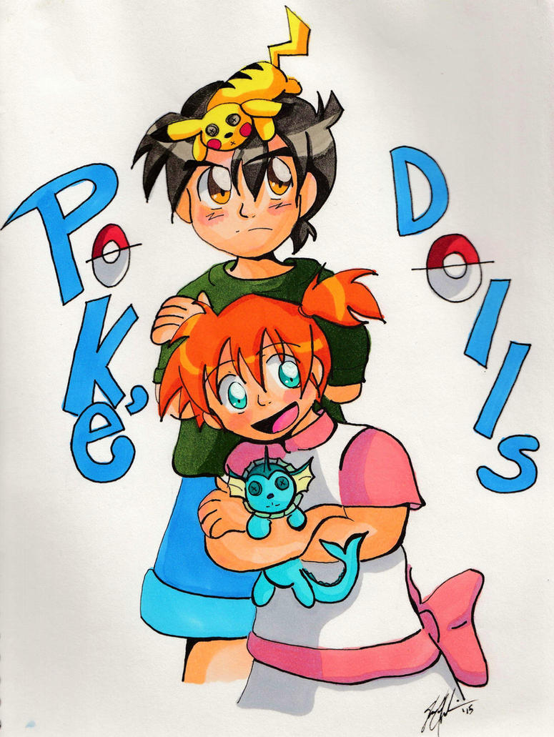 Pokedolls Re-imagined Cover by OneWingedMuse