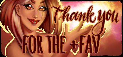 Thanks for +fav!