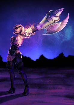 Captain Sofia (Art Fight)