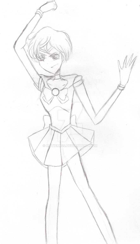 Sailor Uranus (Day 24) by MSTieMiss