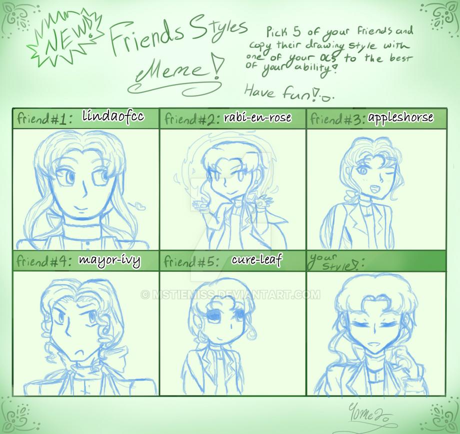 Friend's Style Meme: MSTieMiss Flavor by MSTieMiss