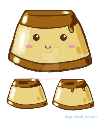 Squishable Flan [VOTING CLOSED] by MSTieMiss
