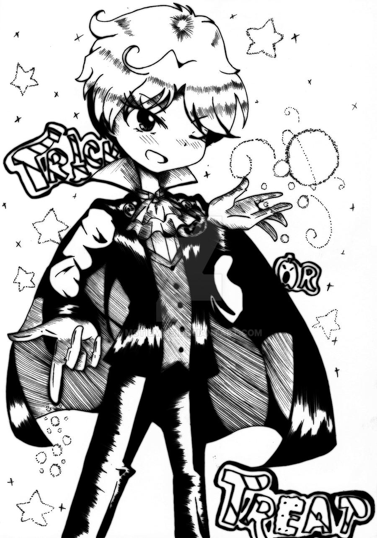 Haruka's Halloween Night by MSTieMiss