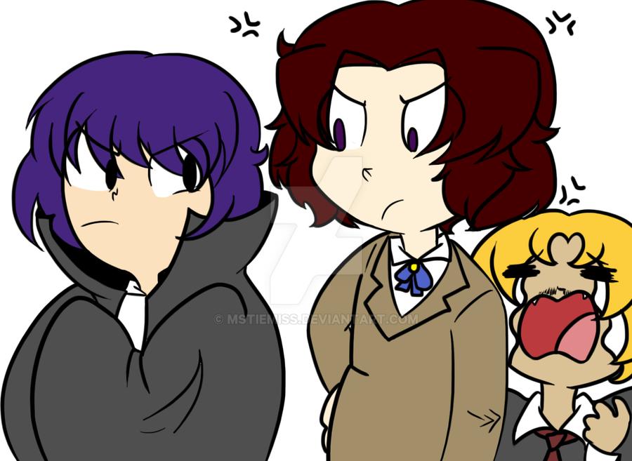 Draw The AU Squad by MSTieMiss