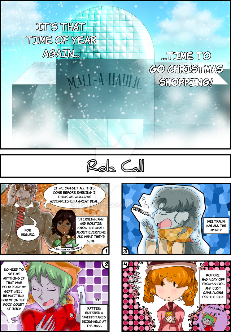 The Uncaged Underworld: 4koma Anthology p205 by MSTieMiss