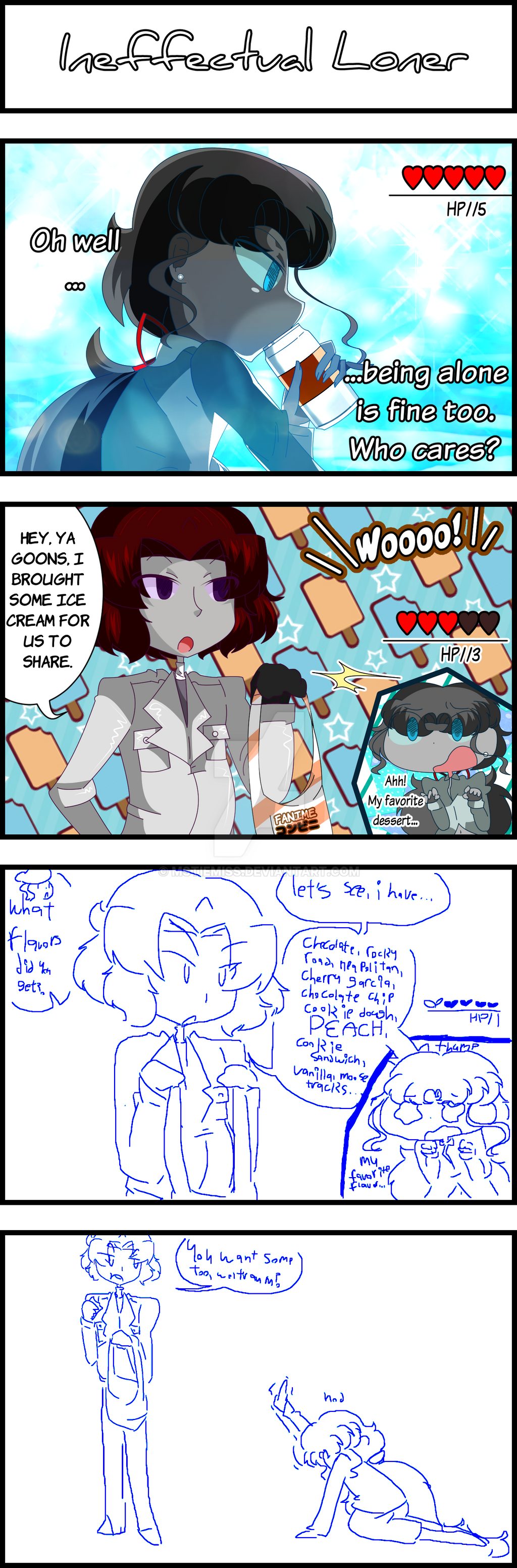 *WIP* The Uncaged Underworld: 4koma Anthology p86 by MSTieMiss