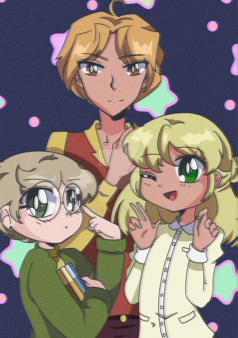 Heirloom Star: Strangers -- Retro Anime Style! by MSTieMiss