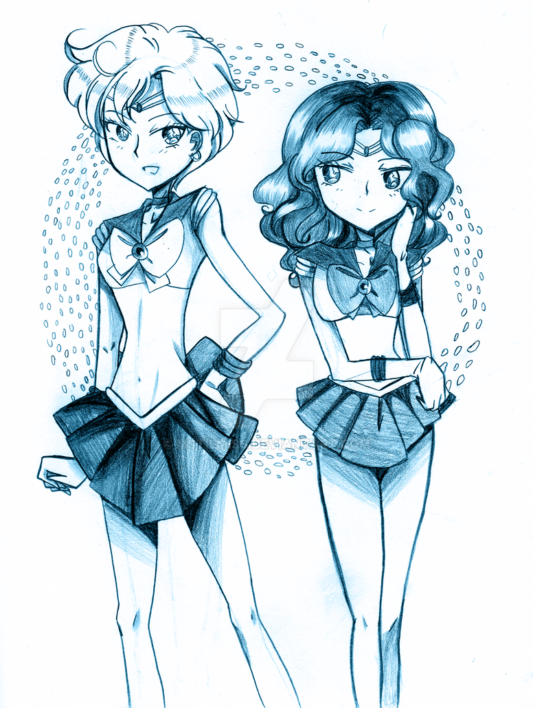 Space Girlfriends by MSTieMiss