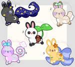 Random Bunnies- OTA [CLOSED] by HopefulAdopts
