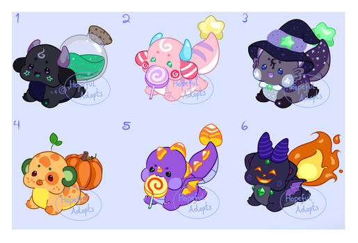 Halloween Chibs! - OTA [CLOSED]