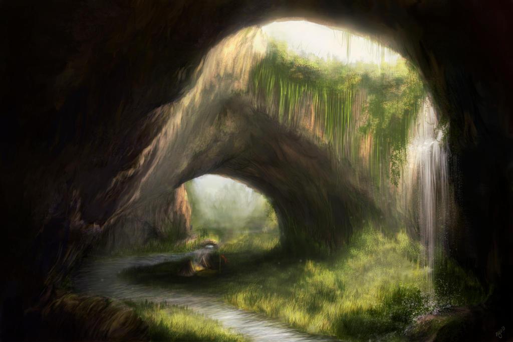 Landscape by Nyu-Lilu