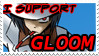 Gloom Support Stamp by snowballchibikat