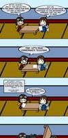 Table Flip Wars: Nobody is safe... by Spaztique