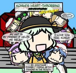 Koishi's Heart-Throbbing Abridgement Poster