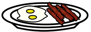 Bacon and Eggs Prop by Spaztique