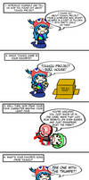 DemonedAway's Touhou Meme, featuring PPP by Spaztique
