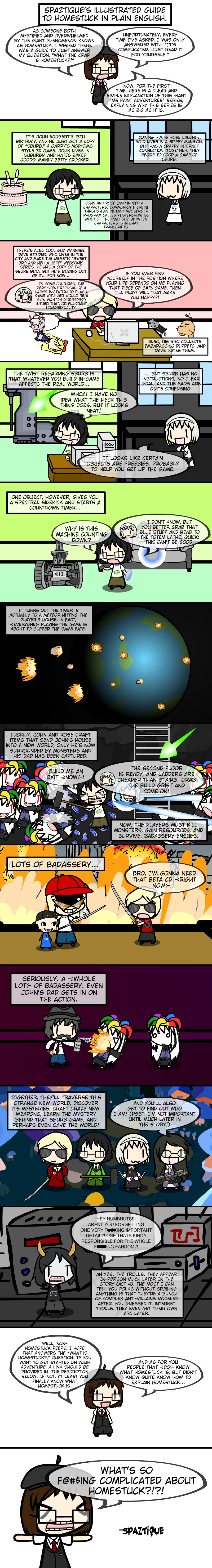 Illustrated Guide to Homestuck IN PLAIN ENGLISH