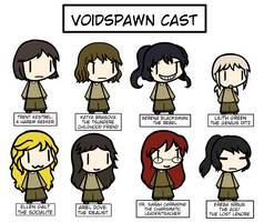 Voidspawn Cast Information by Spaztique