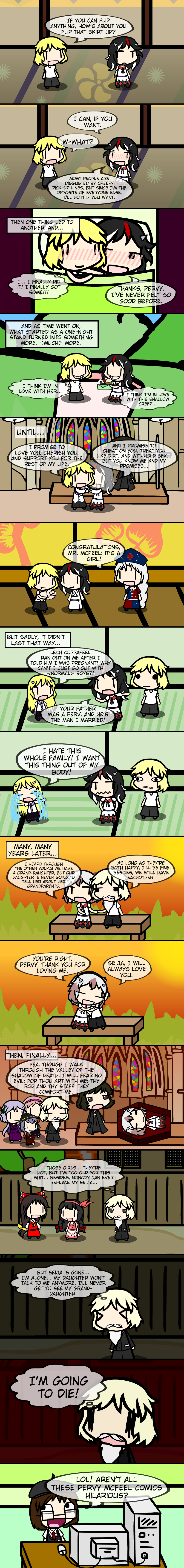 McFeel Misadventures: Reality Ensues    by Spaztique on